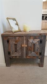 accent storage table great for nautical décor