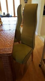 Custom chairs to dining room