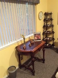 East lake style Desk with leather top