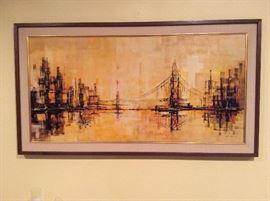 Garcia '62 Painting of Golden Gate Bridge