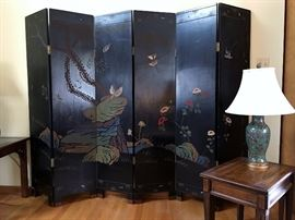 Coromandel Six Panel Screen