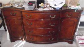 CLASSIC CURVED BUFFET/SIDEBOARD