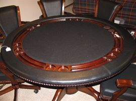 Poker game table top.