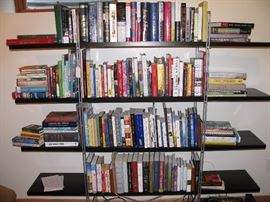 Books include history, Civil War, World War II, contemporary novels, health and self improvement reading, religious and more.