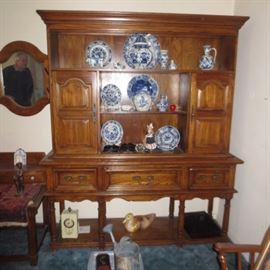 Huge 1950's 1960's Delft Collector Traveled to Holland