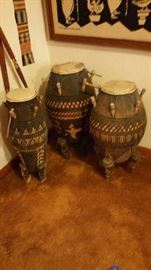 African drums from Ghana