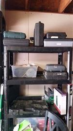 Tool sets, shelving unit