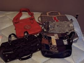 designer Purses, Coach, Tory Burch