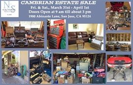 Pallone Estate Sale Postcard 3.17.17 FRONT