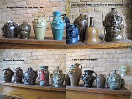 Face Jugs - All by Southern Folk Potters