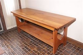 ON AUCTION, PINE BENCH