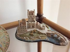 Reproduction of a Scottish castle