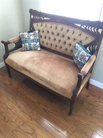 Antique Mahoney Bench
