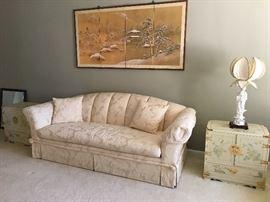 Berhardt Cream colored Sofa