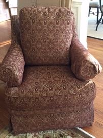 2 Ethan Allen chairs; high comfort, excellent condition!