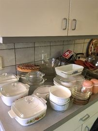 Vintage bakeware