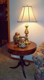 Drum Table: Imperial, Grand Rapids