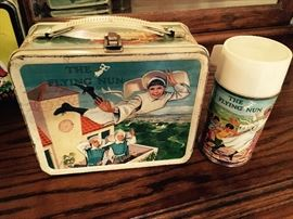 THE FLYING NUN VINTAGE LUNCH BOX WITH THERMOS