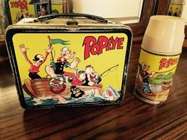 POPEYE LUNCH BOX WITH THERMOS