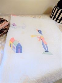 another adorable hand sewn quilt
