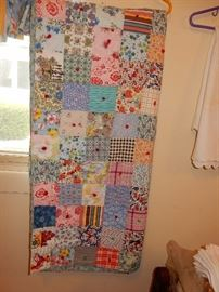 fine quilt all hand sewn