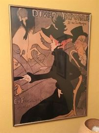 Lautrec Poster Jane Avril, reproduction print