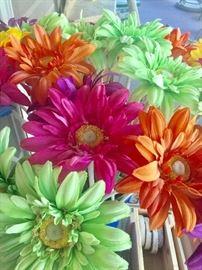 Jumbo daisies in a vase