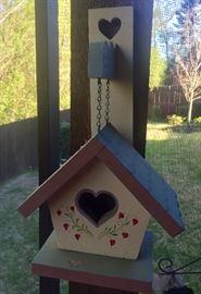 One of many birdhouses
