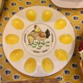 Cute egg plate