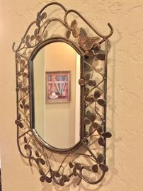 One of several decorative mirrors