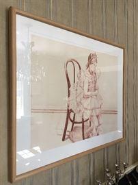 "Philip Pearlstein ""Elle in Tutu"" Lithograph"
