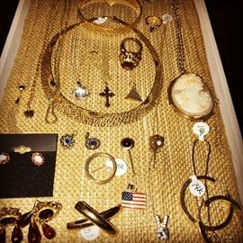 10K , 14K AND 18K SOLID GOLD JEWELRY