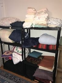 BLANKETS, COMFORTERS, TOWELS AND LINENS