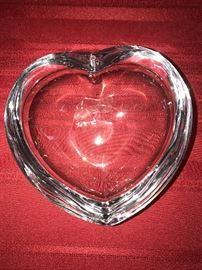 ORREFORS HEART BOWL