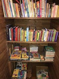 LOTS OF KIDS BOOKS, DISNEY BOOKS, COMIC BOOKS AND MORE