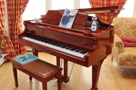 Samick Baby Grand Piano and Bench
