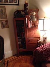 Victorian Tiger Oak Side by Side