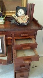 Antique jewelers desk