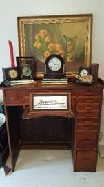 Incredible antique jewelers desk