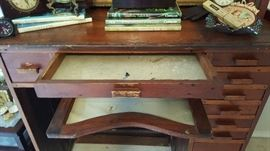 Amazing antique jewelers desk