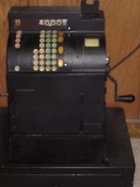 Antique register. Still works.