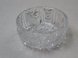 Crystal fruit cup