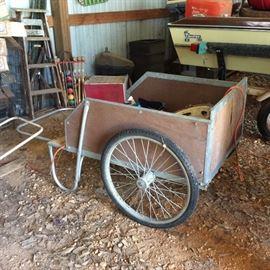 Cart - also kept inside storage building