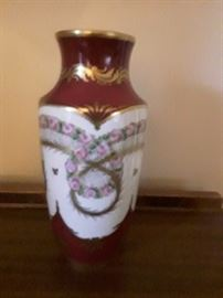 CHRISTALLERIE Mose-Millett Parisian  vase  bought 1950 was told was 67 years. old then