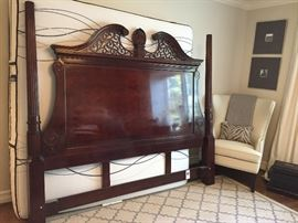 Century Furniture King headboard. $200.00