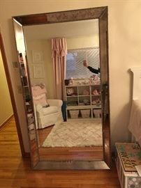 Floor mirror $700