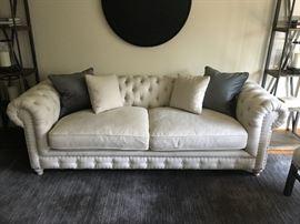 "96""x40""x31""h chesterfield sofa from Scott Shiptrine"