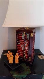 Abacus Lamp