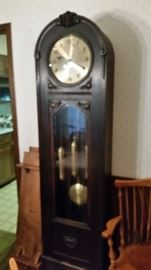 Fabulous Antique German Grandfather Clock