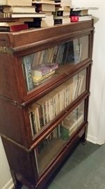Original Globe Wernicke Lawyers Stacking Book Case